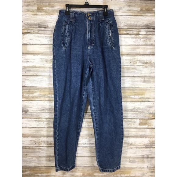 Vintage Denim - Vintage 90's Gloria Vanderbilt high waisted jeans